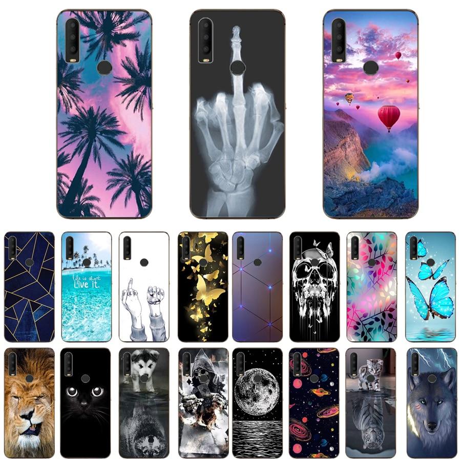 For Alcatel 3x 2019 5048u 5048y Case 6 52 Luxury Tpu Silicone Cases For Alcatel 3 X 3x 2020 Phone Back Cover Phone Case Covers Aliexpress