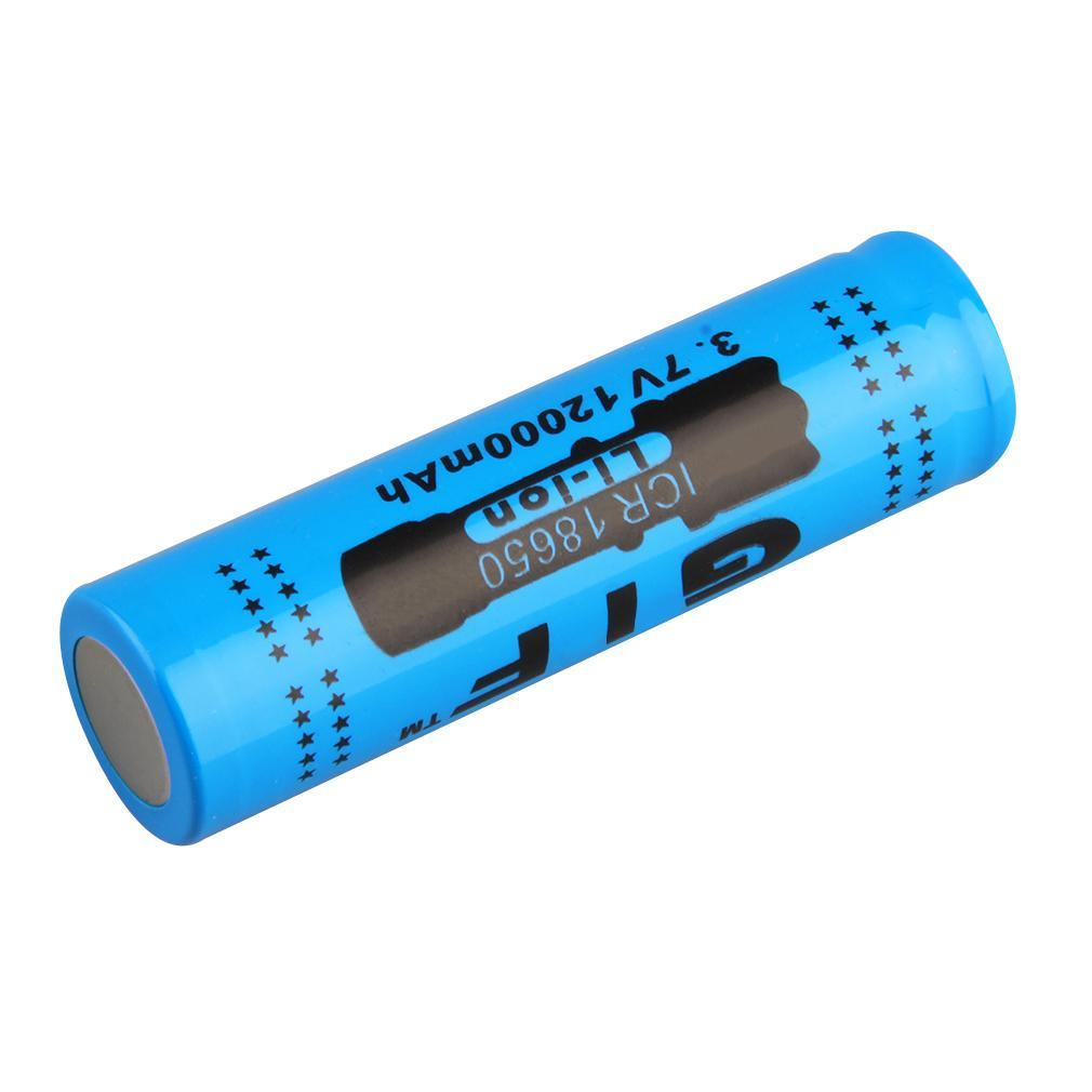 18650 3.7V/12000mAh Rechargeable Li-ion Battery For LED Torch Flashlight SZ