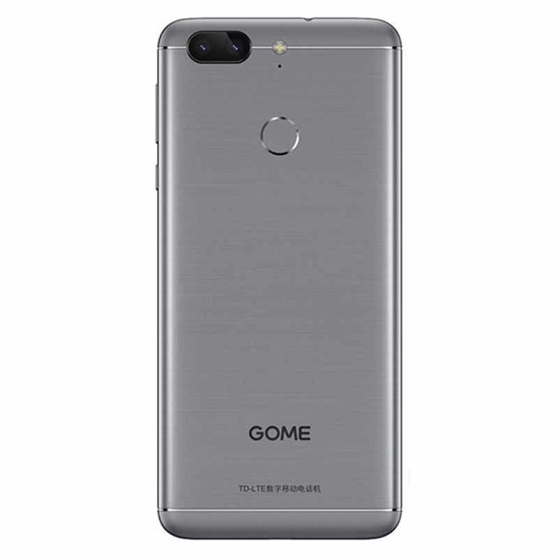هاتف محمول GOME S7 بذاكرة وصول عشوائي 4 جيجا بايت وذاكرة داخلية 64 جيجا بايت وشاشة 13 ميغا بيكسل وشاشة 5.7 بوصة 4G LTE ومعالج ثماني النواة يعمل بنظام الأندرويد 7 وبطاقة SIM مزدوجة وبطارية 4000 مللي أمبير في الساعة هاتف ذكي ببصمة الإصبع
