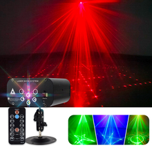 Disco Light Laser-Projector Xmas Christmas-Party WUZSTAR 48-Pattern Voice-Activated Sound