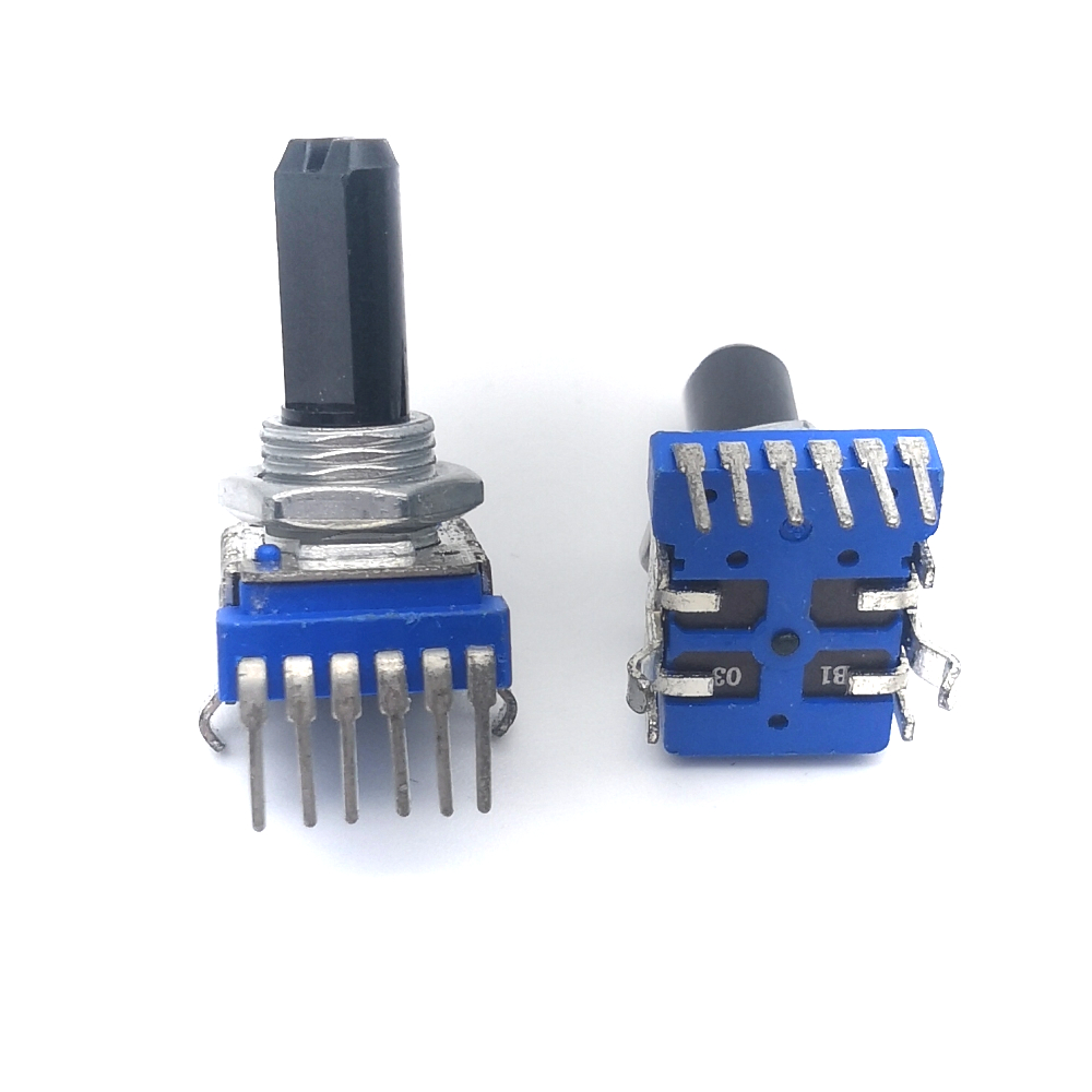 6 - Pin Dual Channel Audio Mixer Potentiometer 103 B10K B50K RK1114GH 10K 50K