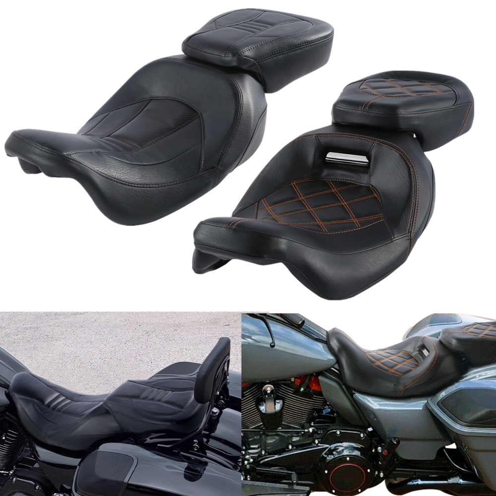 PBYMT Black Front Axle Nut Covers Caps Compatible for Harley Dyna Sportster Touring Road King Electra Street Glide 2008-2020