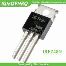10pcs IRFZ48N IRFZ48 IRFZ48NPBF MOSFET MOSFT 55V 64A 14moh 54nC TO 220 새로운 원본