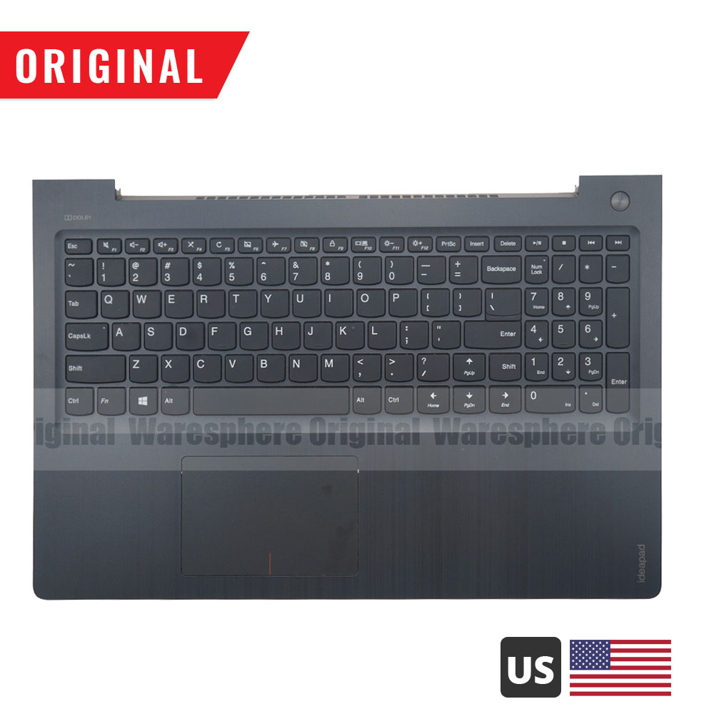 New Original Palmrest For Lenovo Ideapad 310S-15 310S-15ISK 310S-15IKB  With US Keyboard Top Cover 5CB0M44079 Non- Backlit