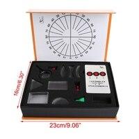Conjunto de prisma de lente convexa côncava óptica óptica óptica kit equipamento de laboratório