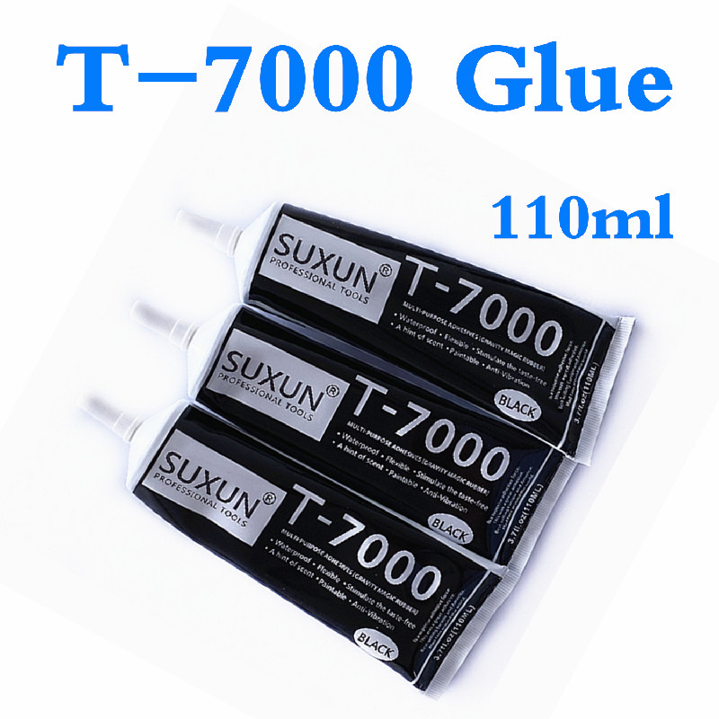 1 PC <font><b>110ml</b></font> <font><b>T7000</b></font> Multiple Purpose Repair <font><b>T7000</b></font> Glue T-7000 Glue Heat Resistant Glue Cell Phone LCD Touch Screen Super Glue <font><b>T7000</b></font> image