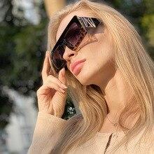 New 2020 Square Steampunk Sunglasses Women Men Retro Sun Glasses Vintage Brand D