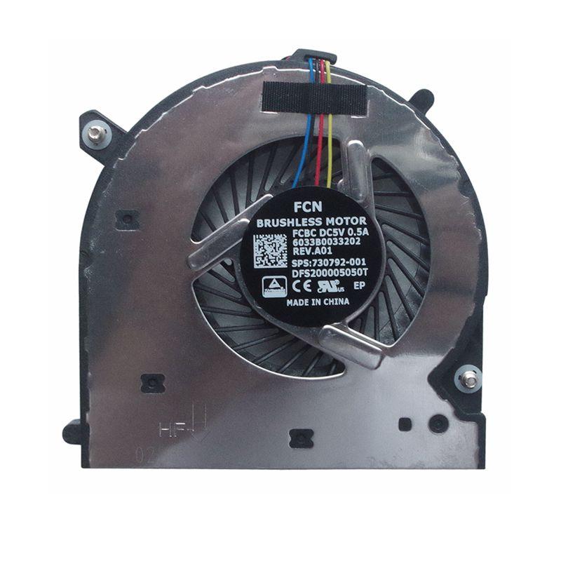 GZEELE Novo Ventilador de Refrigeração da CPU Para HP ELITEBOOK 740 G1 740 G2 840 G1 840 G2 850 G1 850 G2 745-G2 750-G2 755-G2 740-G1 745-G1 750-G1