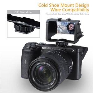 Image 2 - UURig Vlog Macchina Fotografica Dello Schermo di Vibrazione Staffa Per Selfie Mirrorless Camera Periscopio Soluzione Per Sony A6500/6300/A7M3 A7R3 nikon Z6/Z7