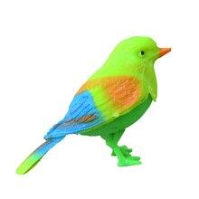 Детские смешные развивающие игрушки магические с голосовой активацией Chirping Sound control певчая птица Забавный подарок игрушка для ребенка