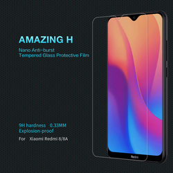 На Алиэкспресс купить стекло для смартфона for xiaomi redmi 8 glass redmi 8a dual screen protector nillkin h 0.33mm explosion-proof for xiaomi redmi 8a pro tempered glass