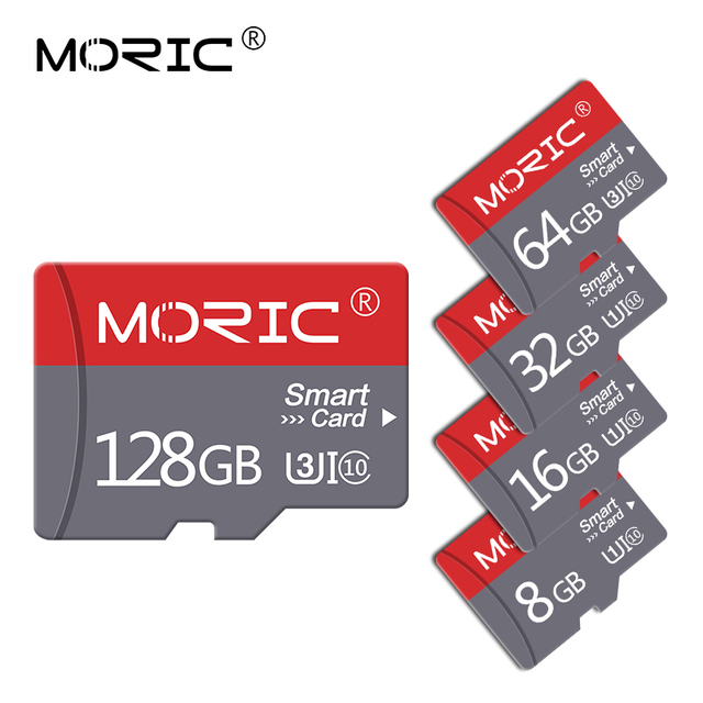 Original Moric Micro SD 32GB 64GB 128gb 256GB Clase 10 mini tarjeta TF de 2gb 4GB 8GB 16GB 32GB cartao 64gb de memoria Flash de memoria para teléfono/PC