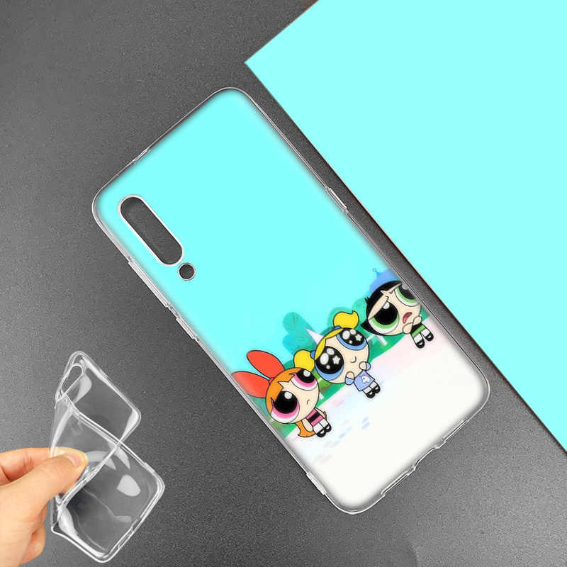 Powerpuff Girls Case for Huawei P20 P30 P Smart Z Plus 2019 P10 P9 P8 Mate 30 10 20 Lite Pro Silicone Sac Phone Coque Anime Cage