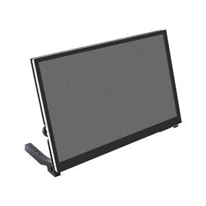 Monitor LCD portátil de 10,1 pulgadas con Panel IPS HD, pantalla táctil fácil de instalar para PC, pantalla capacitiva para Raspberry Pi