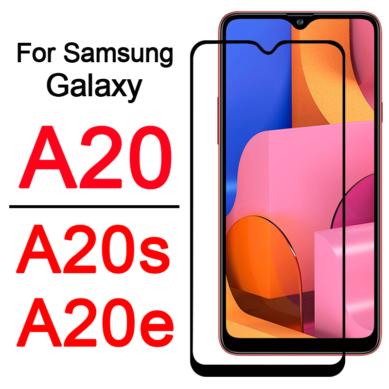 a20s phone case cover on for <font><b>Samsung</b></font> <font><b>Galaxy</b></font> A20e <font><b>A20</b></font> A 20 s e 20s 20e 20a gaxaly <font><b>galaxy</b></font> armored protective Screen Protector Glas image