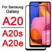 a20s phone case cover on for Samsung Galaxy A20e A20 A 20 s e 20s 20e 20a gaxaly galaxy armored protective Screen Protector Glas