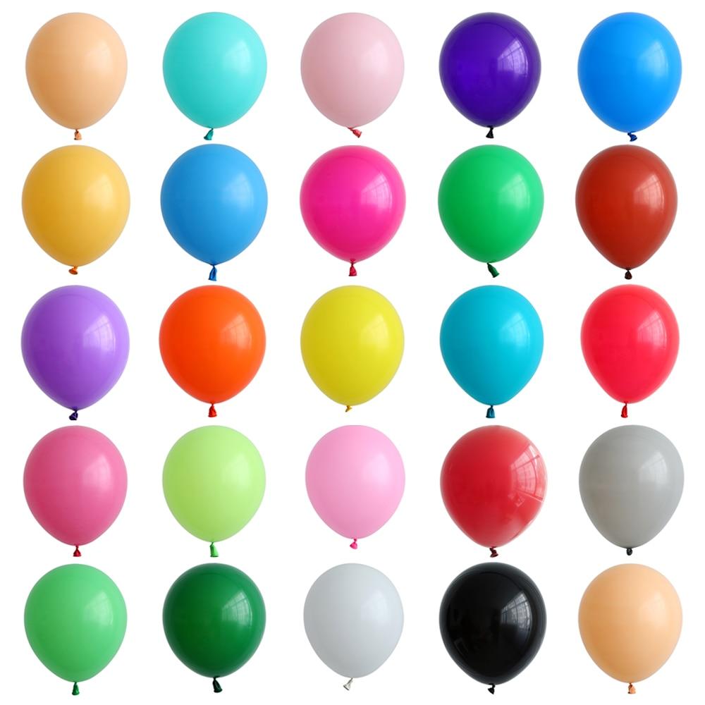 12 шт., латексные воздушные шары, 12 дюймов|Воздушные шары и аксессуары|   | АлиЭкспресс