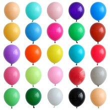 12szt 12 Cal różowe lateksowe balony Baby Shower Girl Ballon balony ślubne dekoracje na imprezę urodzinową dzieci Globos różowe balony