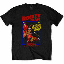 ELTON JOHN Rocketman Feather Suit Mens T Shirt Unisex S M L XL 2XL Official(China)