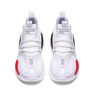 Image 4 - ONEMIX احذية الجري للرجال زيادة 4 سنتيمتر Ulzza Harajuku أحذية رياضية توسيد الارتفاع منصة تنفس شبكة رياضة المشي