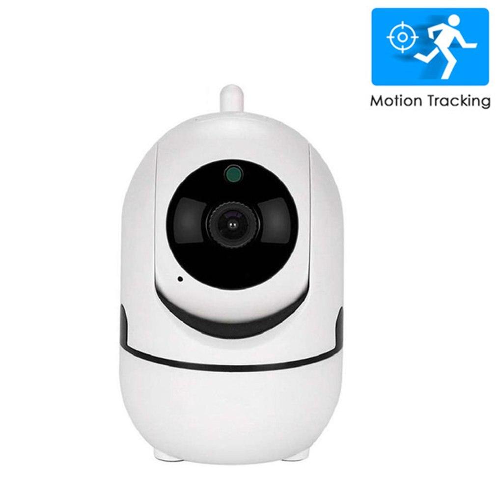 White Cloud IP Camera Home Security Surveillance Camera Auto Tracking Network WiFi Camera Wireless CCTV Camera