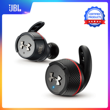 JBL UA FLASH TWS 플래시 TWS 무선 귀에 블루투스 V4.2 스포츠 이어폰 깊은베이스 IPX7 방수 이어 버드 충전 박스 및 마이크