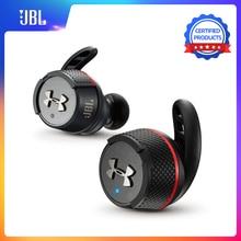 JBL UA Flash TWS اللاسلكية في الأذن بلوتوث V4.2 سماعة أذن تستخدم عند ممارسة الرياضة عميق باس IPX7 سماعات أذن مقاومة للماء مع صندوق شحن والميكروفون