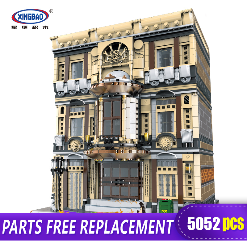 XingBao 01005 5052Pcs Genuine Creative MOC City Series The Maritime Museum Set Children Building Blocks Bricks Toys Model Gifts in Blocks from Toys Hobbies