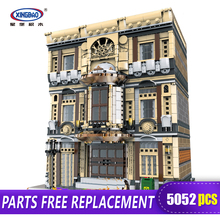 XingBao 01005 5052Pcs Genuine Creative MOC City Series The Maritime Museum Set Children Building Blocks Bricks Toys Model Gifts цена