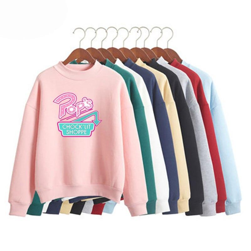New Jughead Jones Riverdale Cosplay Winter Warm  Harajuku Style Sweatshirt Top Style Exclusive Crown Blouse Riverdale Hoodie