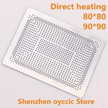 Direct heating 80*80 90*90 YM2200C4T4MFB YM2300C4T4MFB YM2500C4T4MFB YM2700C4T4MFB YM2200C4T20FB  0.35MM  BGA  Stencil Template