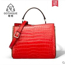 gete Crocodile bag Womens new imported crocodile skin handbag for women belly cross