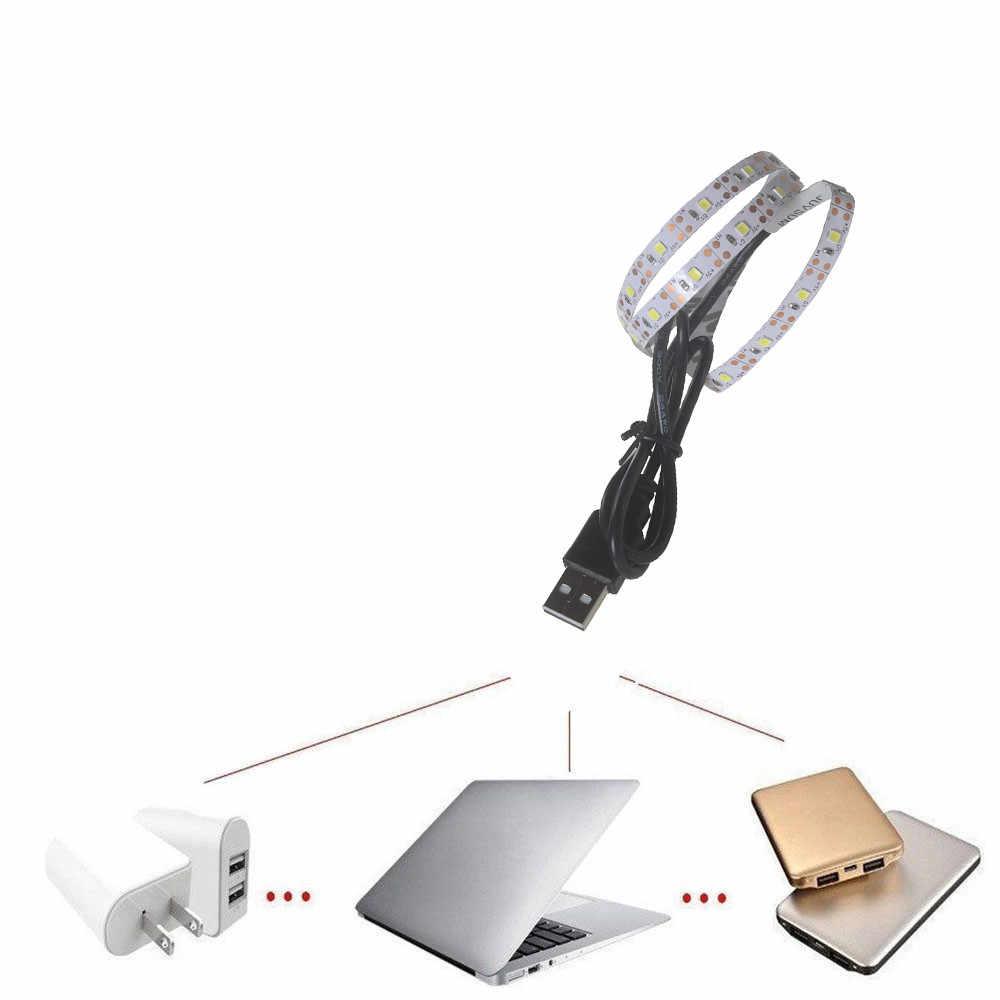 5V 2835 30SMD/50CM לבן/חם לבן/כחול LED רצועת אור בר טלוויזיה חזרה תאורה ללא עמיד למים LED רצועות