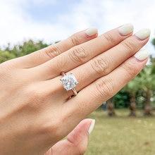 Модное обручальное кольцо qyi из стерлингового серебра 925 пробы