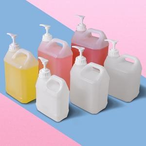 Image 5 - כיכר סבון Dispenser בקבוק קרם ג ל רחצה Foor כיתה HDPE מיכל עם משאבת 1PCS