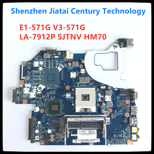 Q5WVH For Acer aspire Q5WV1 LA-7912P E1-571G V3-571G V3-571 E1-531 motherboard NBC1F11001 SJTNV HM70 DDR3 100% Fully tested(China)