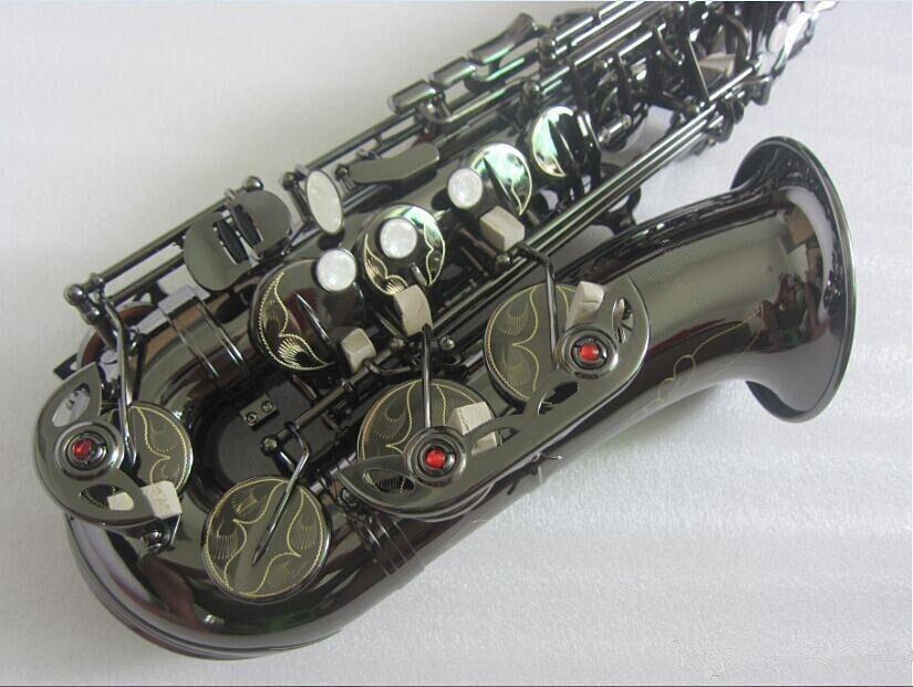 Nova Qualidade Mi Bemol saxofone Alto Níquel