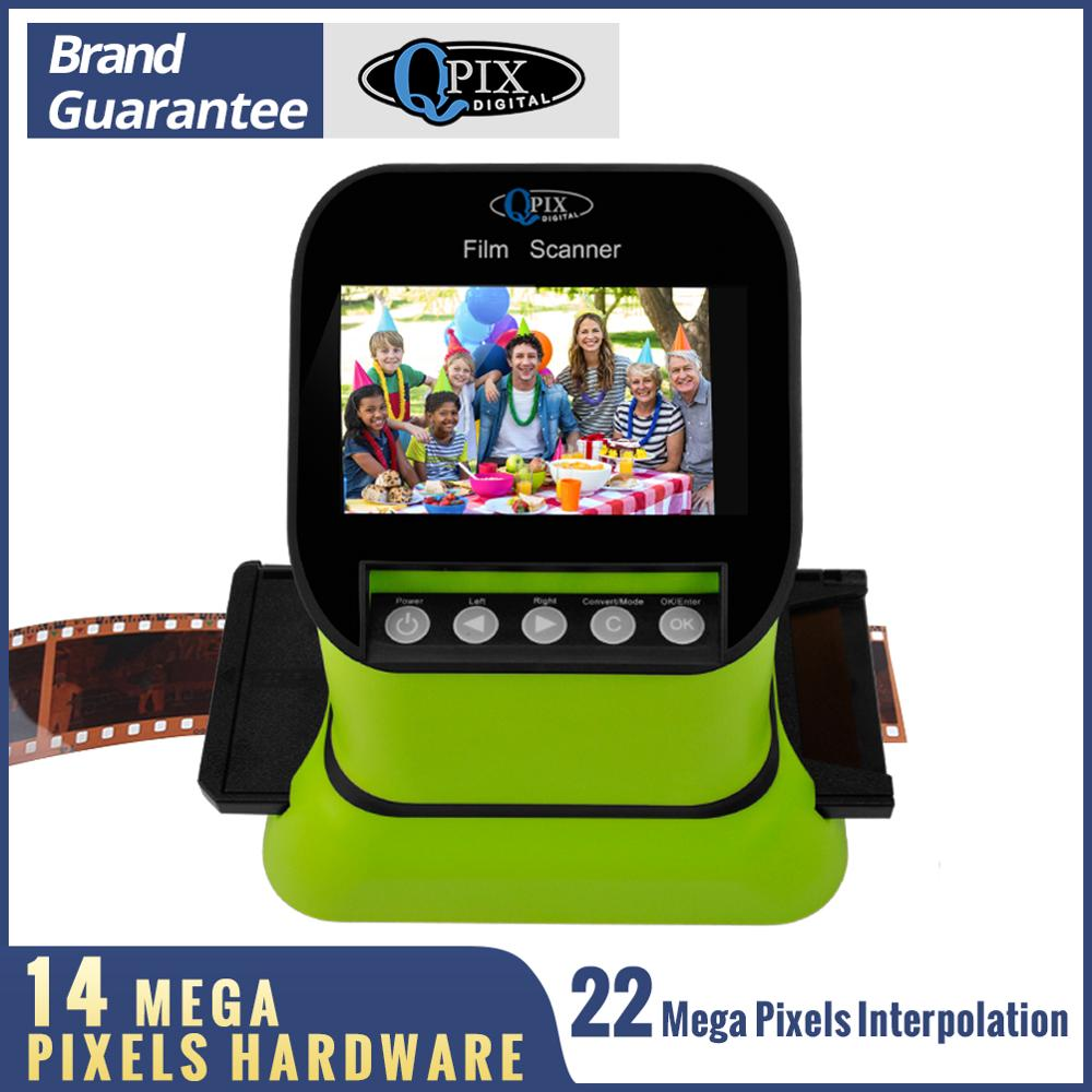 High Resolution 22 Mega Pixels 120 Slide Film Scanner 35mm Negative Photo Scanner Digital 135 126KPK Film Converter 4.3