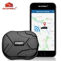 Localizador GPS magnético rastreador GPS de coche TKSTAR TK905, 7-15 días de trabajo, vibrador impermeable, rastreador de vehículo, geo-valla, aplicación gratuita