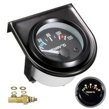 2 52mm water temp gauge blue red led car temperature digital meter tint lens universal gauge pod mount holder black 2 52mm Car Gauge Auto Digital LED Water Temp Temperature Gauge 40-120 Celsius Measure Automobile 4/6/8 Cylinder Gasoline Cars