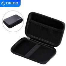 Сумка ORICO для жесткого диска 2,5 дюйма, портативная Защитная сумка для внешнего жесткого диска, чехол для SSD/наушников/U-диска