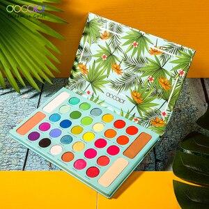 Image 2 - Docolor Nude Ombretto Tavolozze 34 colori Matte Shimmer Glitter Eyeshadow Trucco Tavolozze In Polvere Impermeabile Pigmentato Cosmetici
