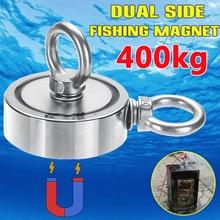400 кг/250 кг/150 кг сильный неодимовый магнит круглый крюк спасательный магнит для Глубоководной Рыбалки магнитный держатель для охоты на сокровище