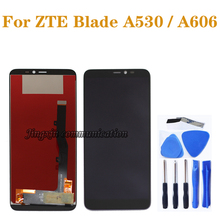 5.45 inch new LCD for ZTE blade A530 LCD display + touch screen Digitizer Assembly for ZTE A606 LCD screen repair parts new 5 inch full lcd display touch screen digitizer assembly replacement for zte blade x5 blade d3 t630 free shipping