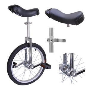 20/24inch Single Wheel Bike Unicycle Cycling Scooter Circus Bike Youth Adult Balance Exercise Single Wheel Bicycle Stage Show