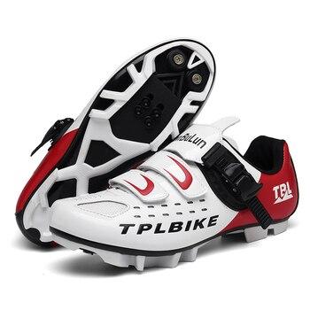 New MTB Sneakers Men Women Cycling Shoes Self-locking Road MTB Bike Sneaker Professional Damping Size 36-46 Sports Shoes 13