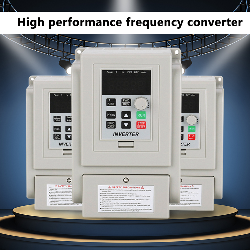 220V 2HP 1.5KW Variable Frequency Drive Inverter CNC VFD VSD Single To 2 Phase