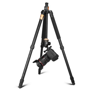 Image 3 - QZSD Q999H Aluminium Alloy Camera Tripod  Video Monopod Professional Extendable Tripod with Quick Release Plate and Ball Head