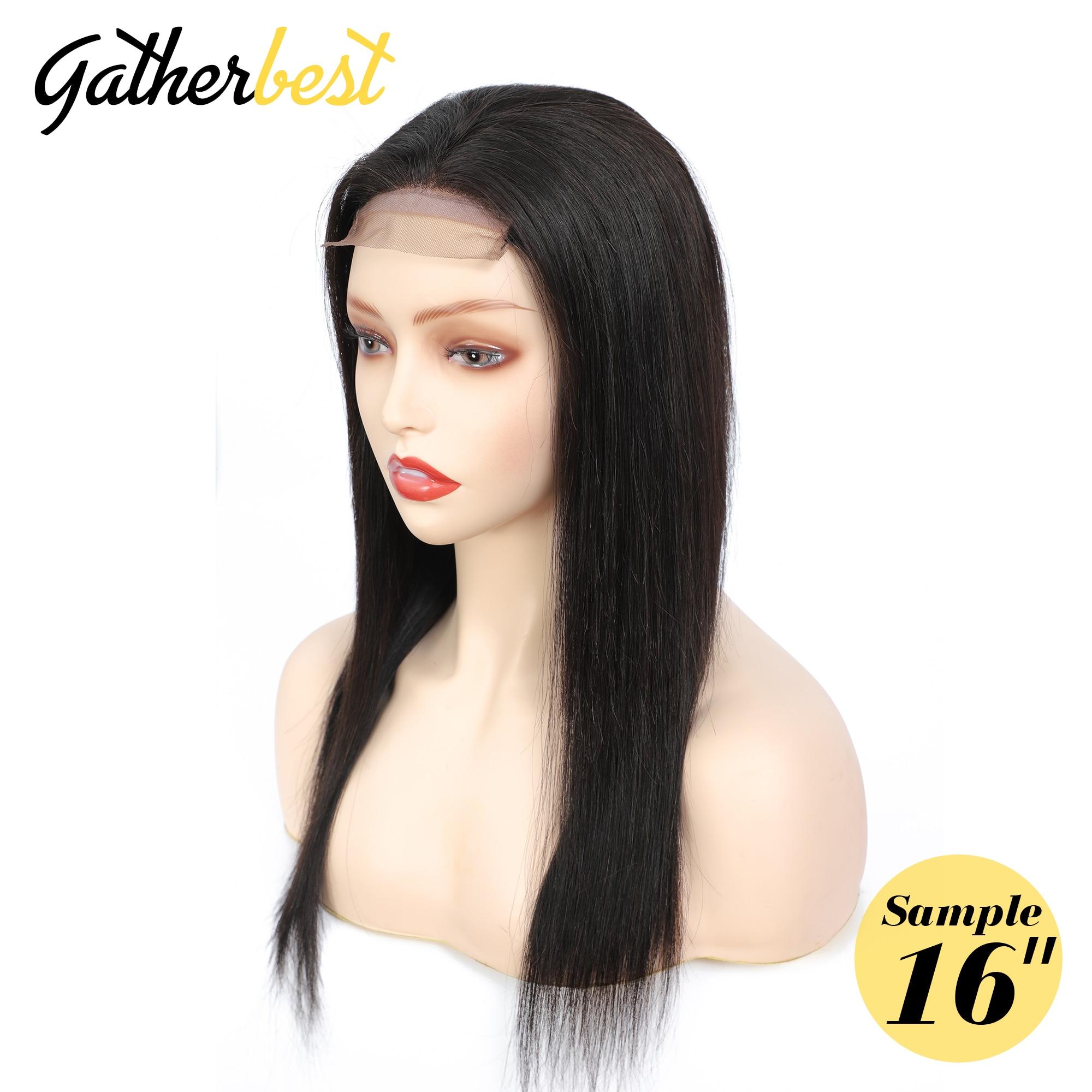 Самые лучшие волосы, прямые волосы, парик 4X4, кружева, закрытие, человеческие волосы, парики 150%, плотность, кружевные передние парики для черных женщин, Remy волосы, парики