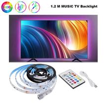 RGB LED Strip Lights Waterproof Changing Light Kits with 24 Button Remote Contro